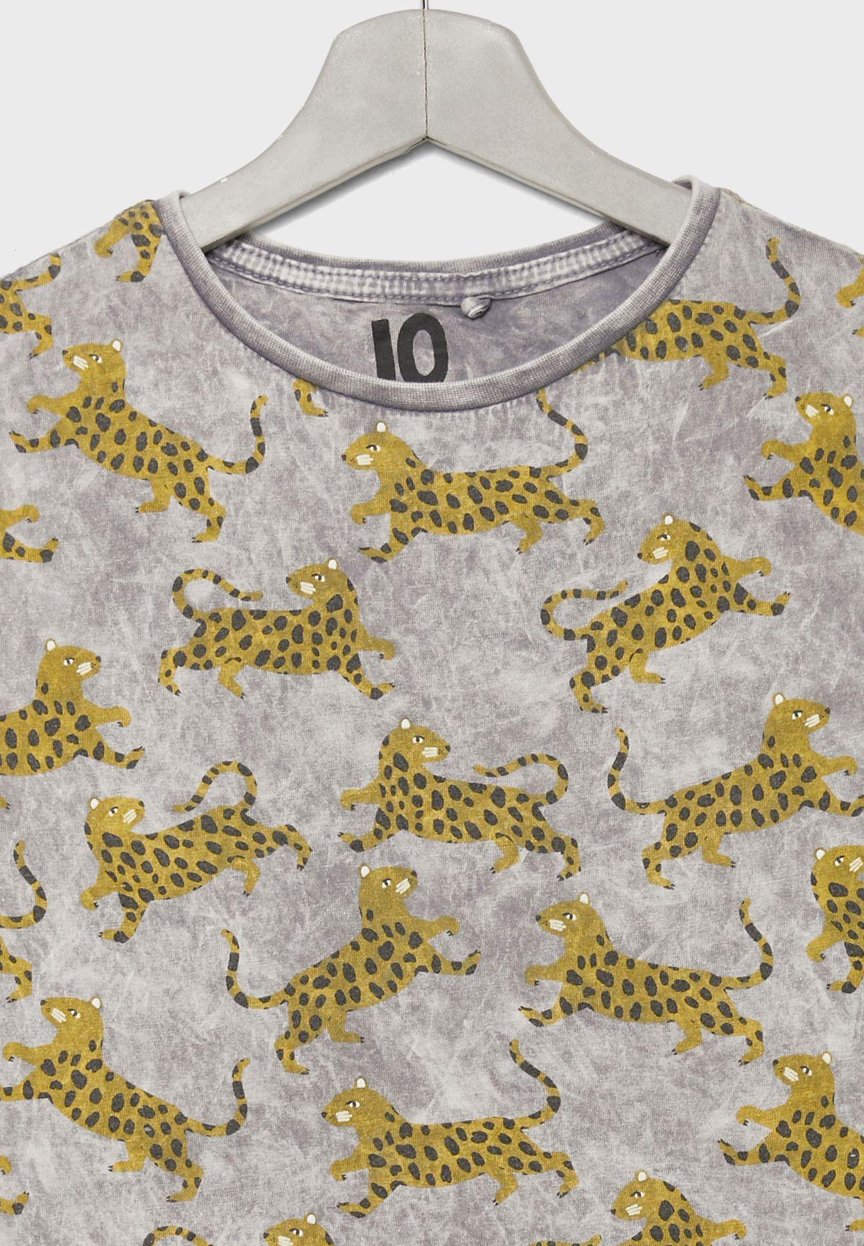 Kids Tiger Print Vest