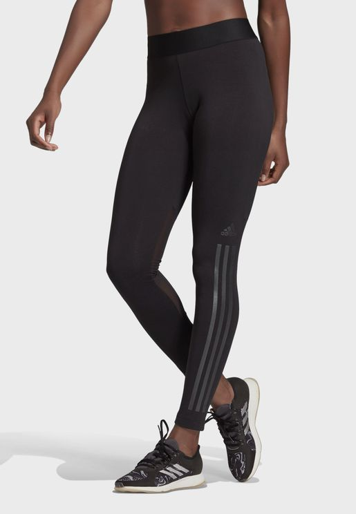 Glam 3 Stripe Leggings
