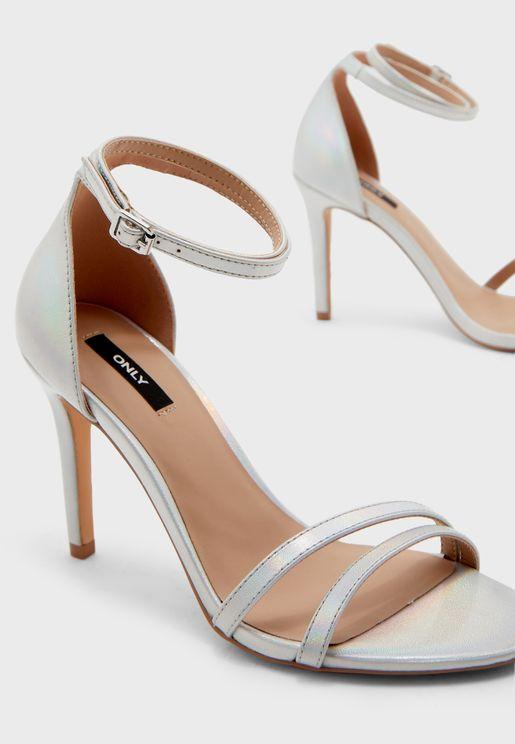 Aila Ankle Strap High Heel Sandal