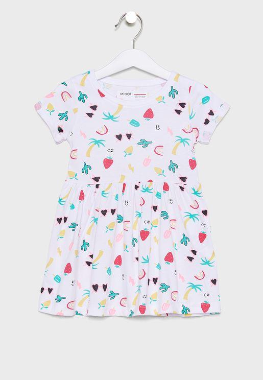 Infant Printed Dress