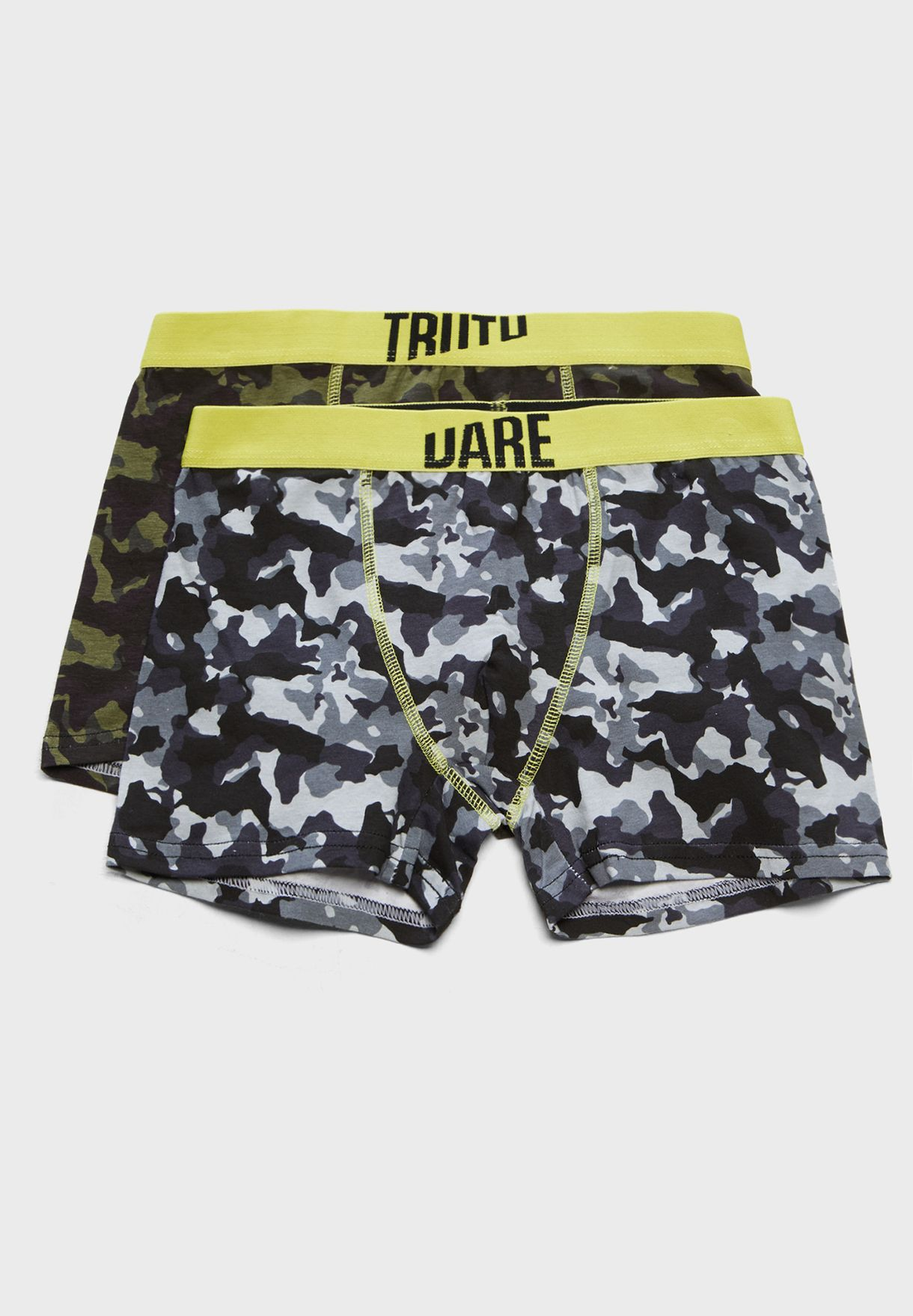 e38ae01bcd Shop Reserved prints Teen 2 Pack Camo Boxer Shorts UW748-90X for ...