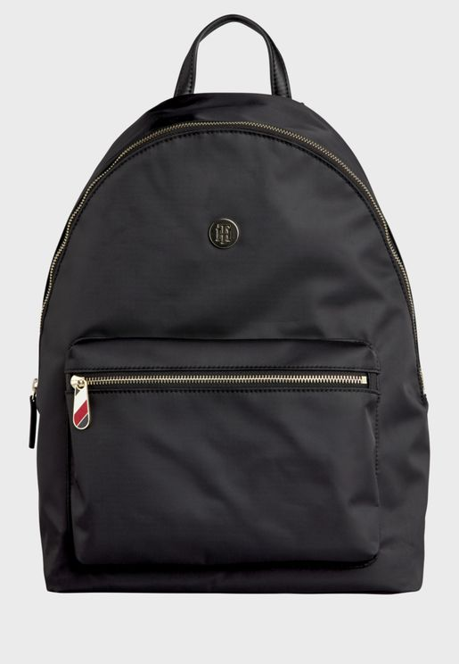 Poppy Front Zip Pocket Backpack