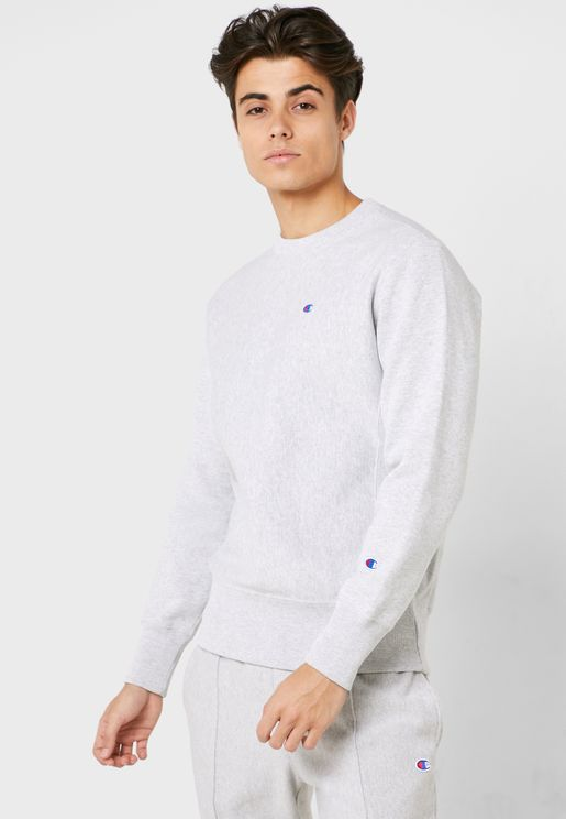 Reverse Weave Classic Fleece Sweatshirt