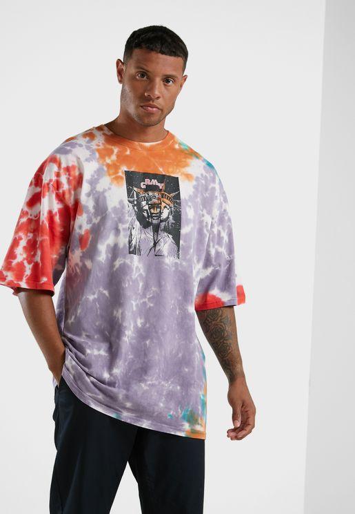 Liveution Magic 4 Resistance Tie-Dye T-Shirt