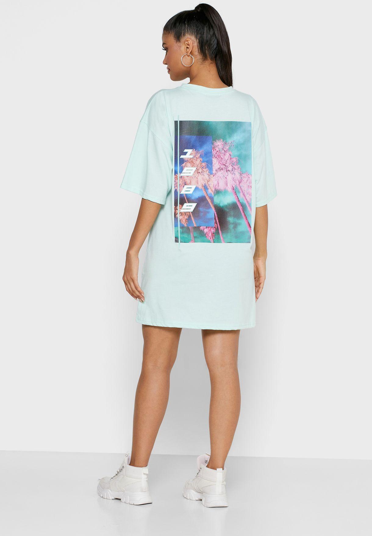 Graphic Oversized Dress