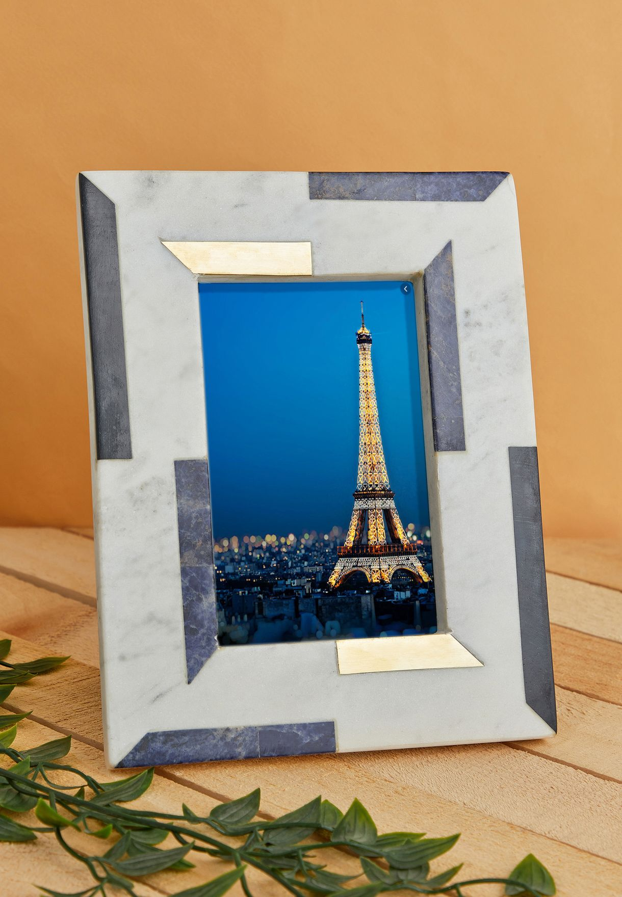 Marble Colour Block Photo Frame