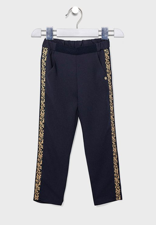 Youth Frill Detail Sweatpants