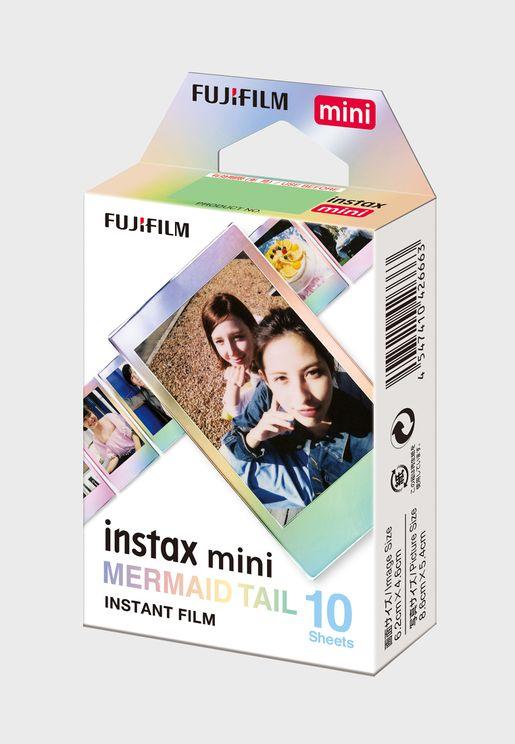 Instax Mini Film Mermaid Tail
