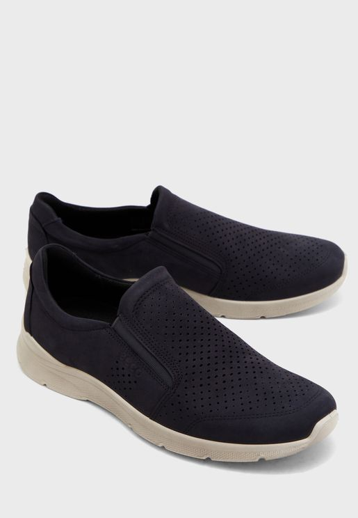 Irving Perforated Slip Ons