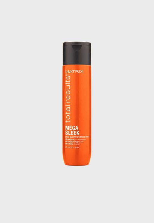 Mega Sleek Shampoo 300ml For Frizzy Hair