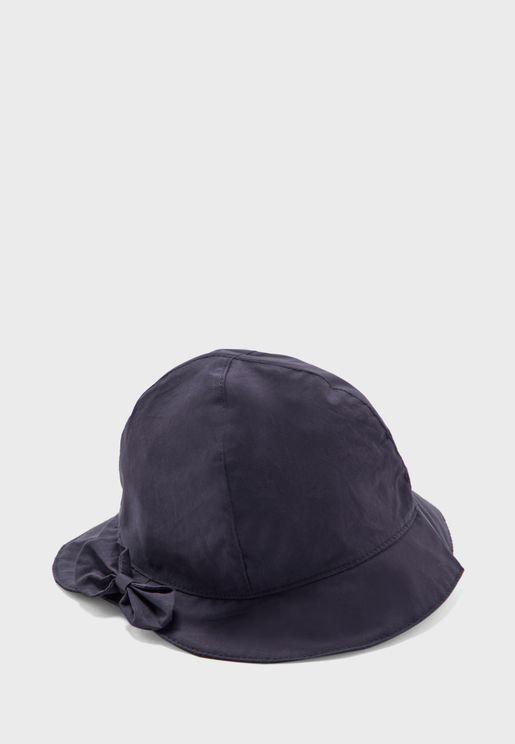 Infant Knot Detail Hat