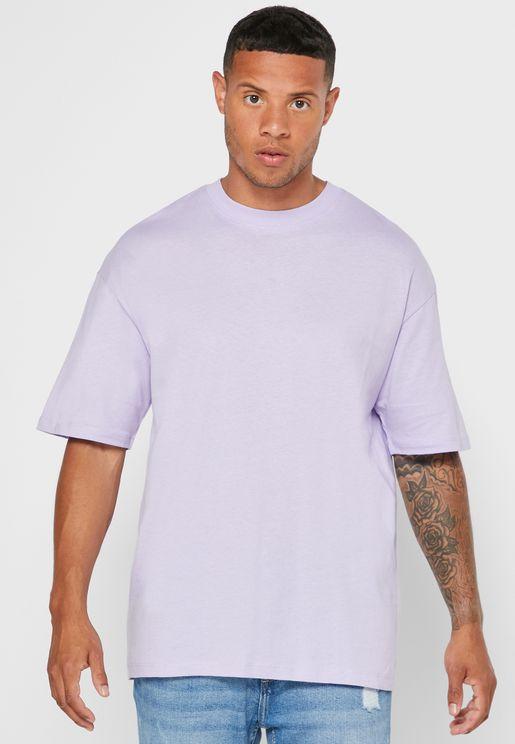 Essential Box Fit Crew Neck T-Shirt