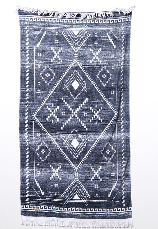 Aztec Printed Rectangle Beach Towel