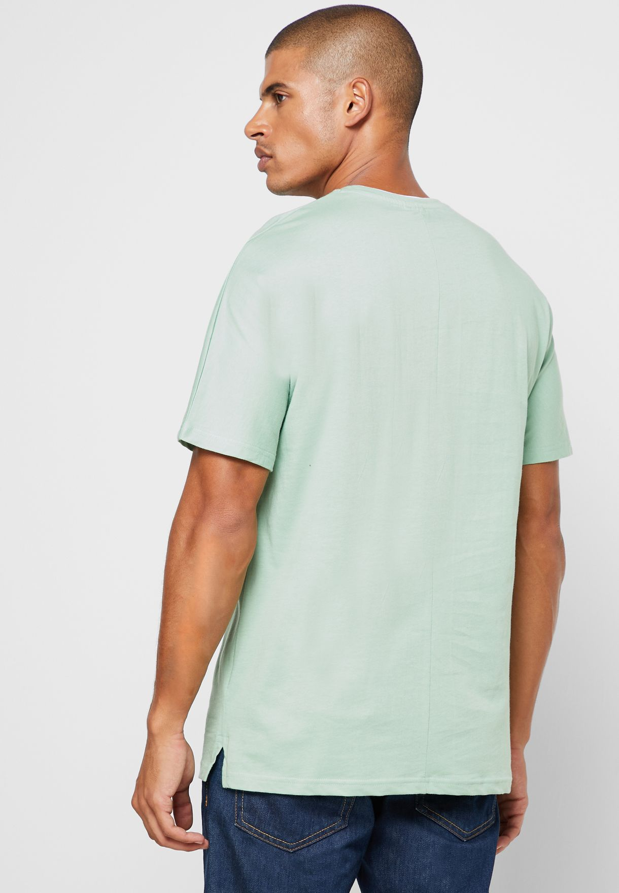 Oversize Tipping T Shirt
