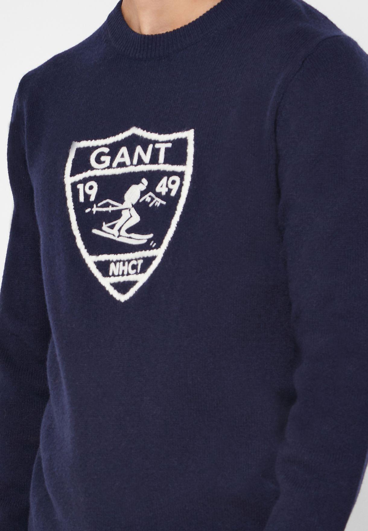 Ski Crest Sweatshirt