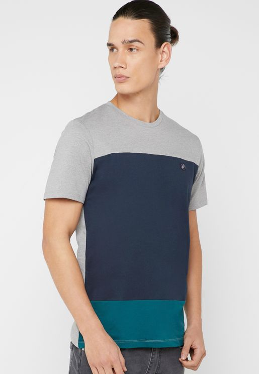 Lawson Color Block Crew Neck T-Shirt