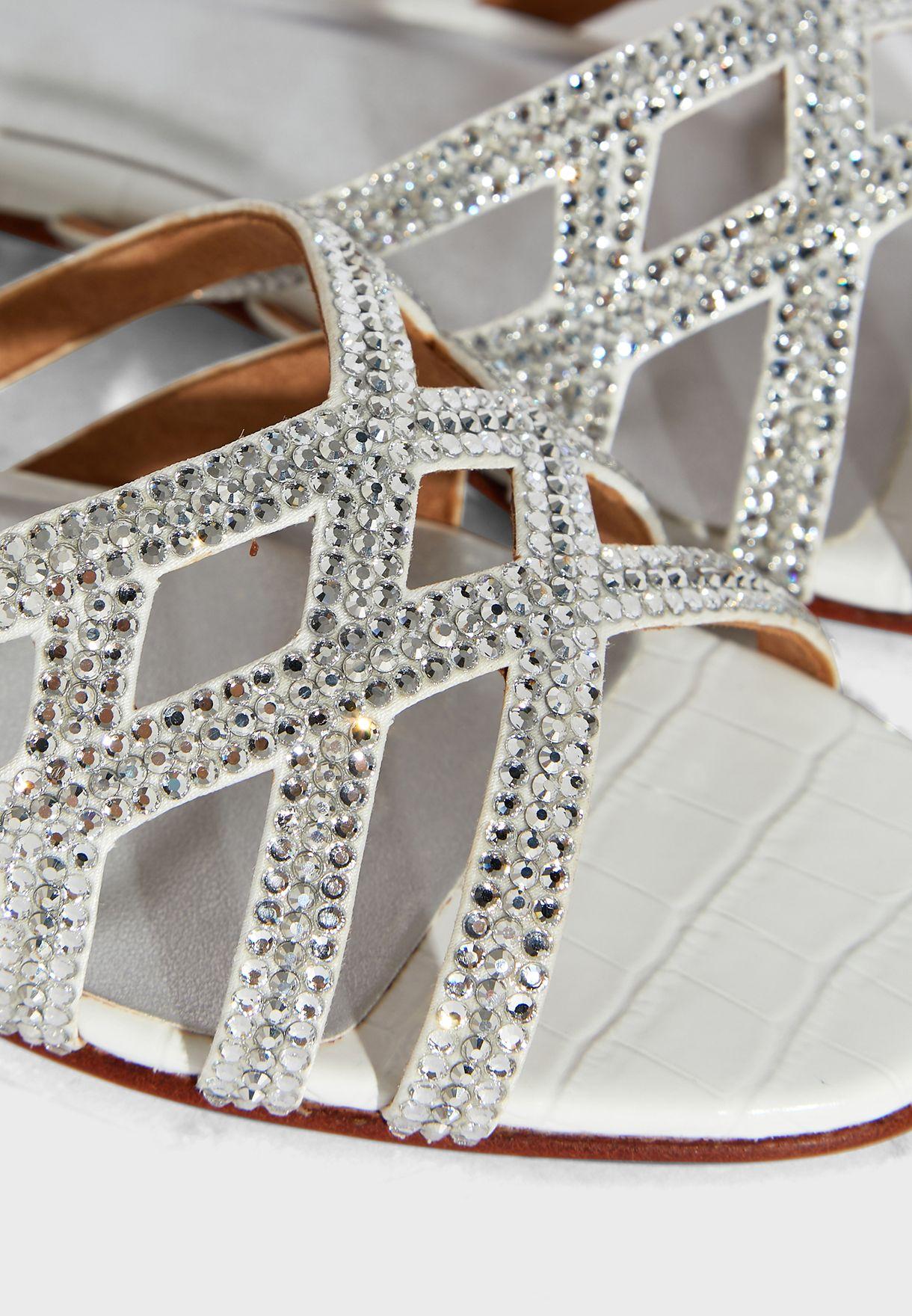 Zuri Mid-Heel Sandals