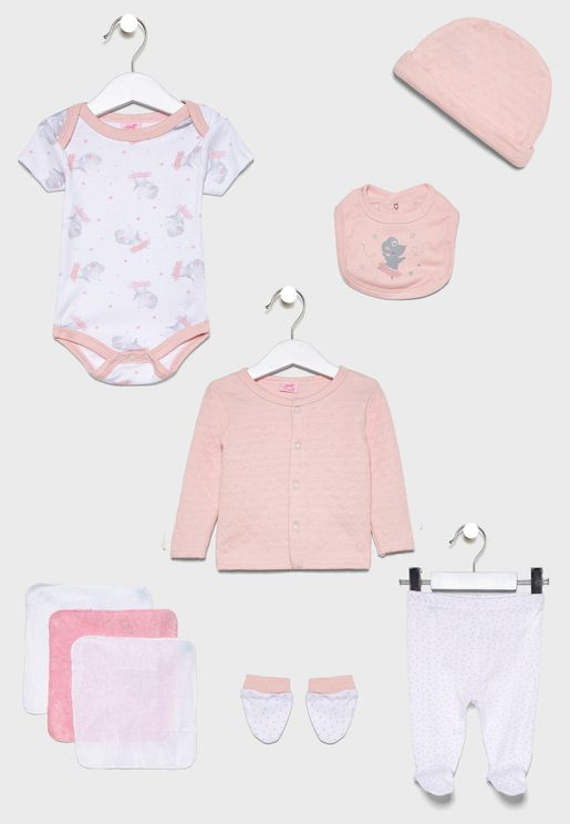 Infant 10 Piece Gift Set
