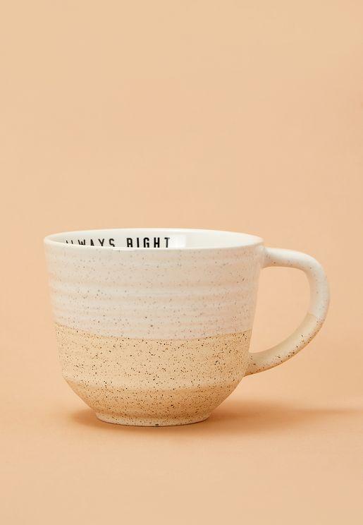 Swirl Oversized Mug