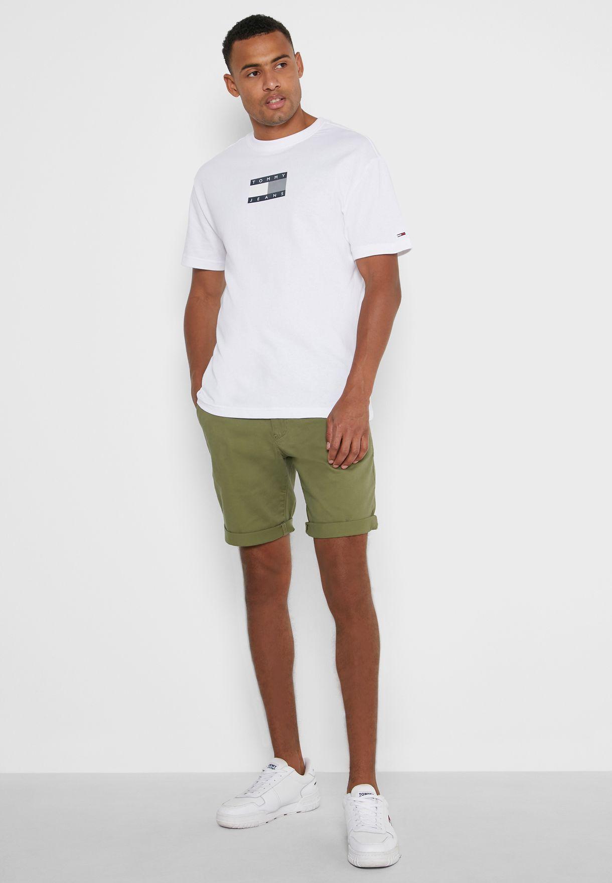 Logo Scanton Chino Shorts