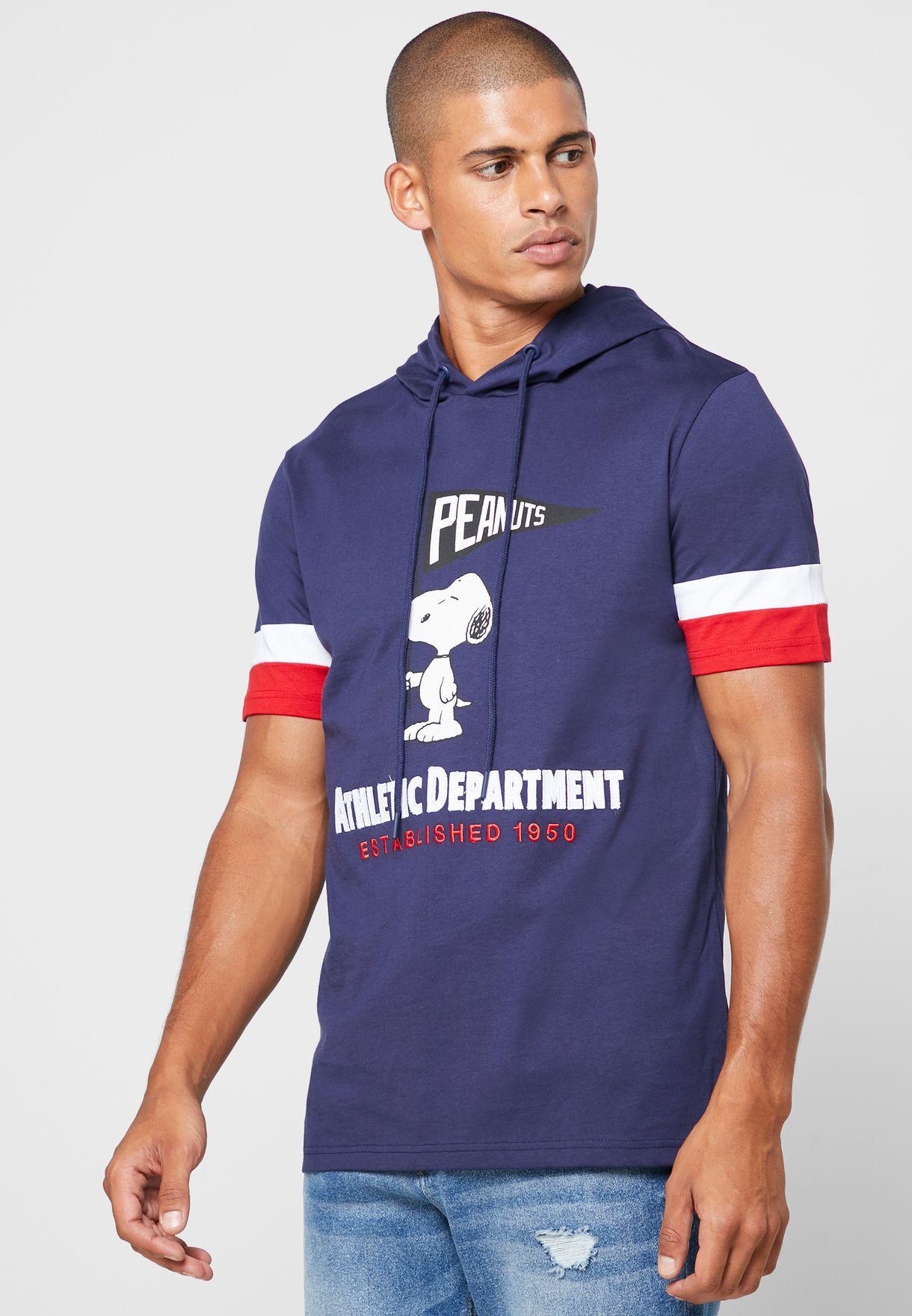 Snoopy Crew Neck T-Shirt