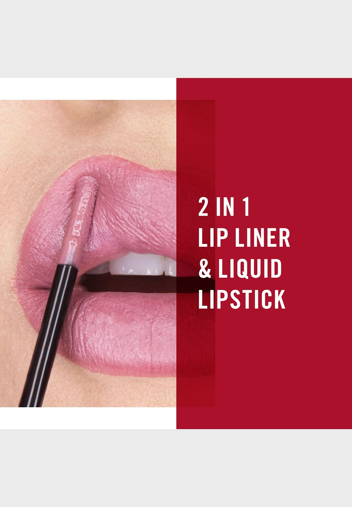 Rimmel London Lip Art Graphic, 760 Now or Never, 1.8ml