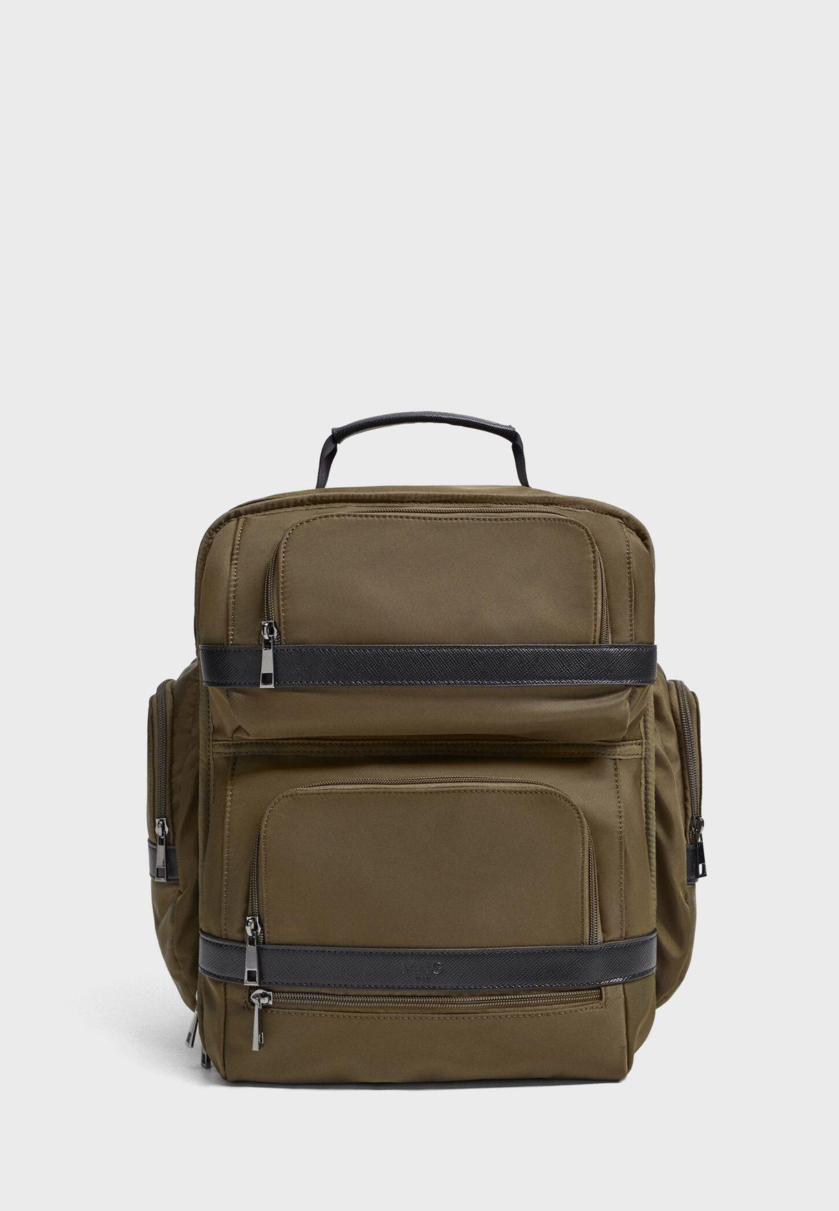 Double Zip 24H Backpack