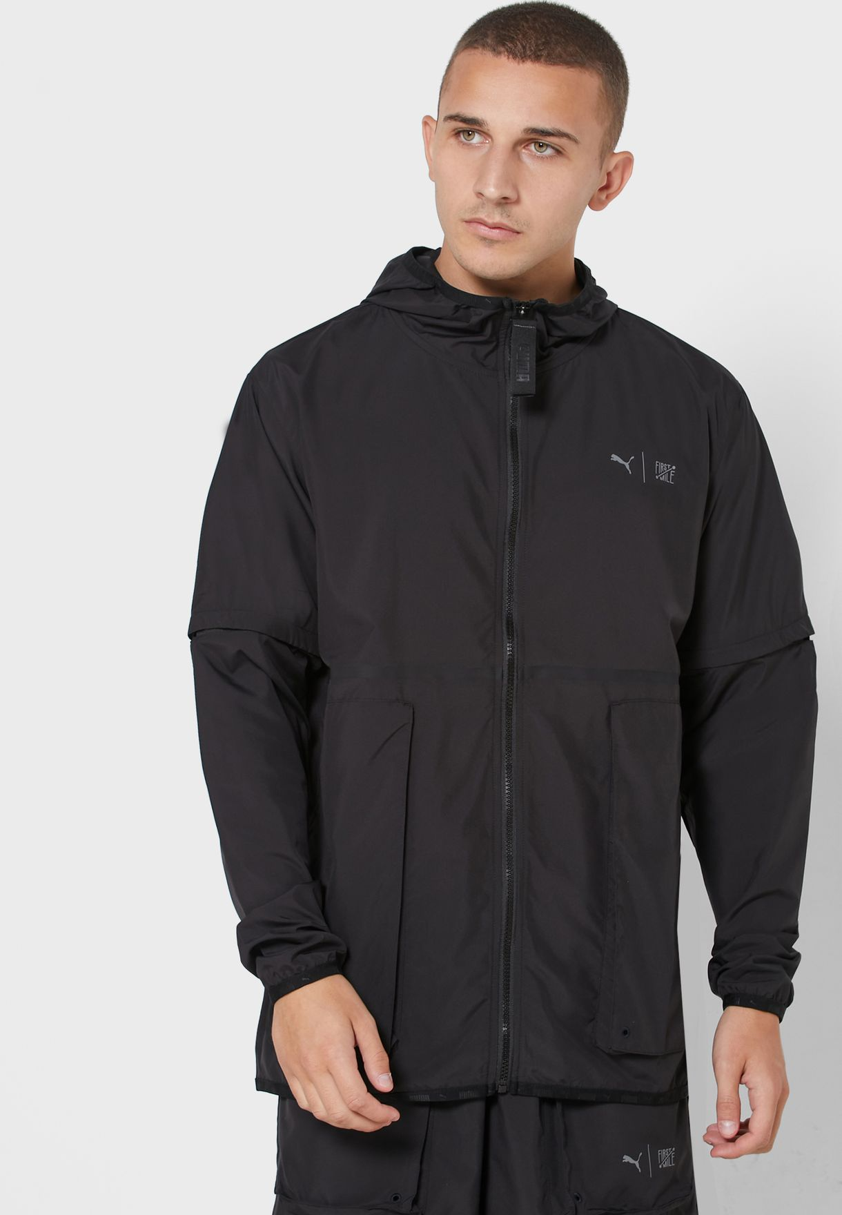 First Mile 2In1 Hooded Jacket
