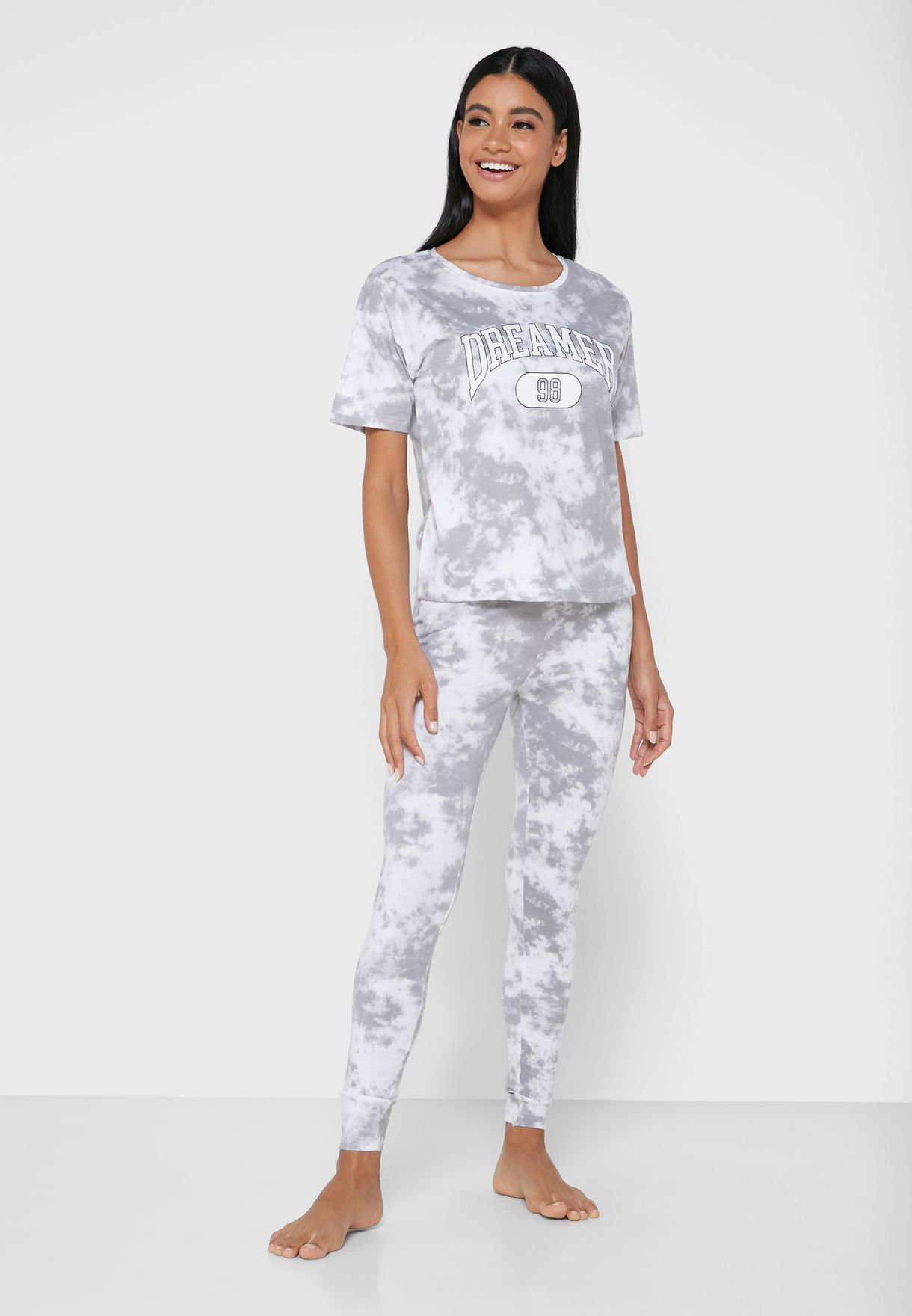 Dreamer Tie Dye Pyjama Set