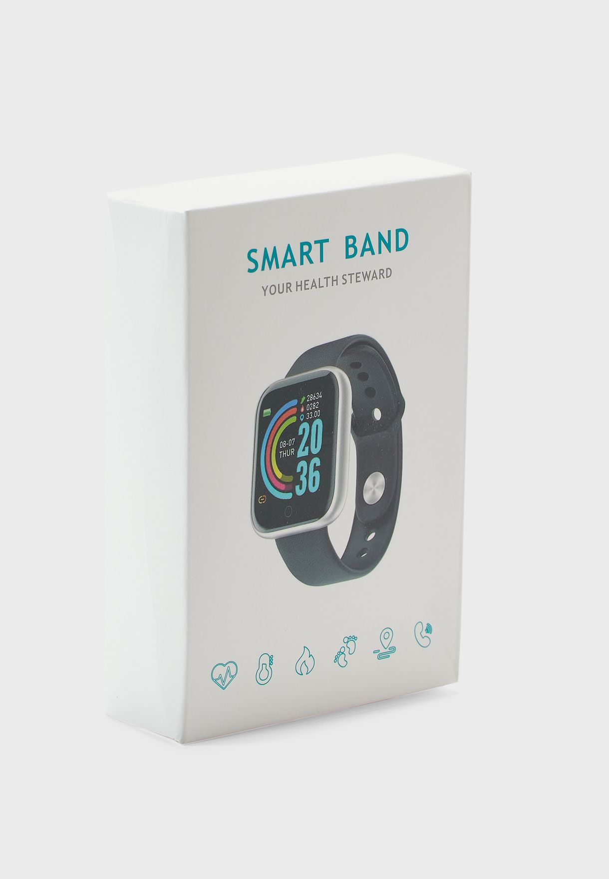 ساعة ذكية لقياس القلب والضغط والاكسجين