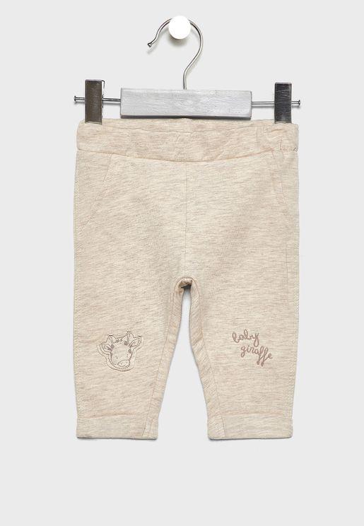 Infant Patched Sweatpants