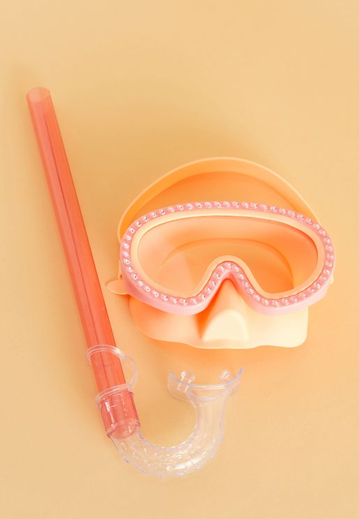 نظارات مياه وانبوب غطس