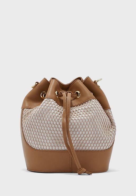Casual Mesh Hobo Bag