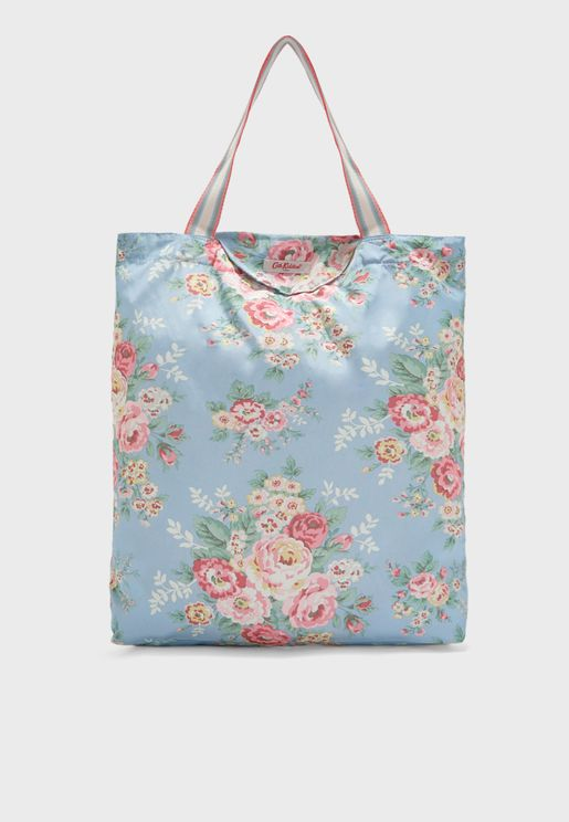 Flowers Candy Foldaway Shopper