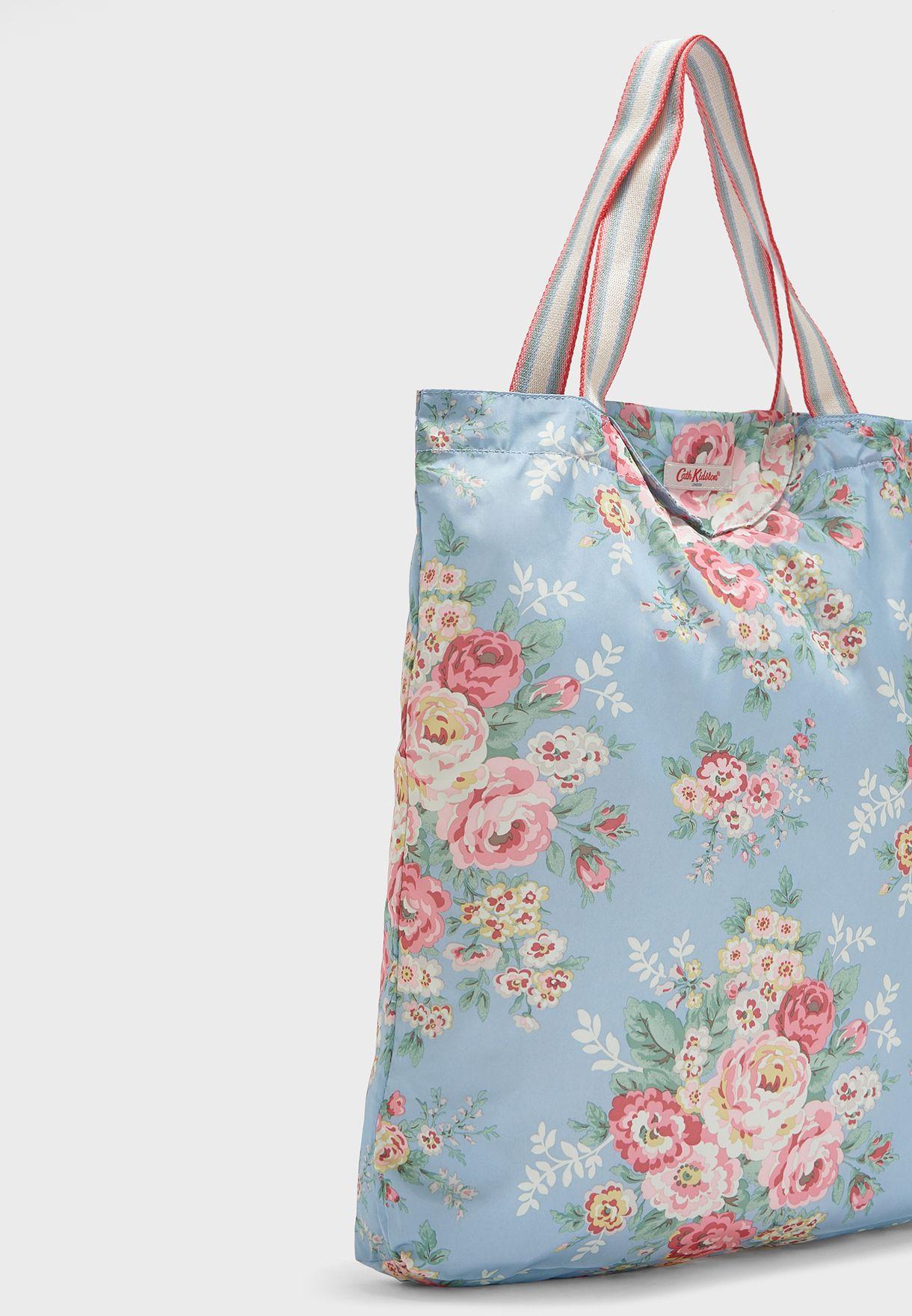 Flowers Candy Foldaway Shopper