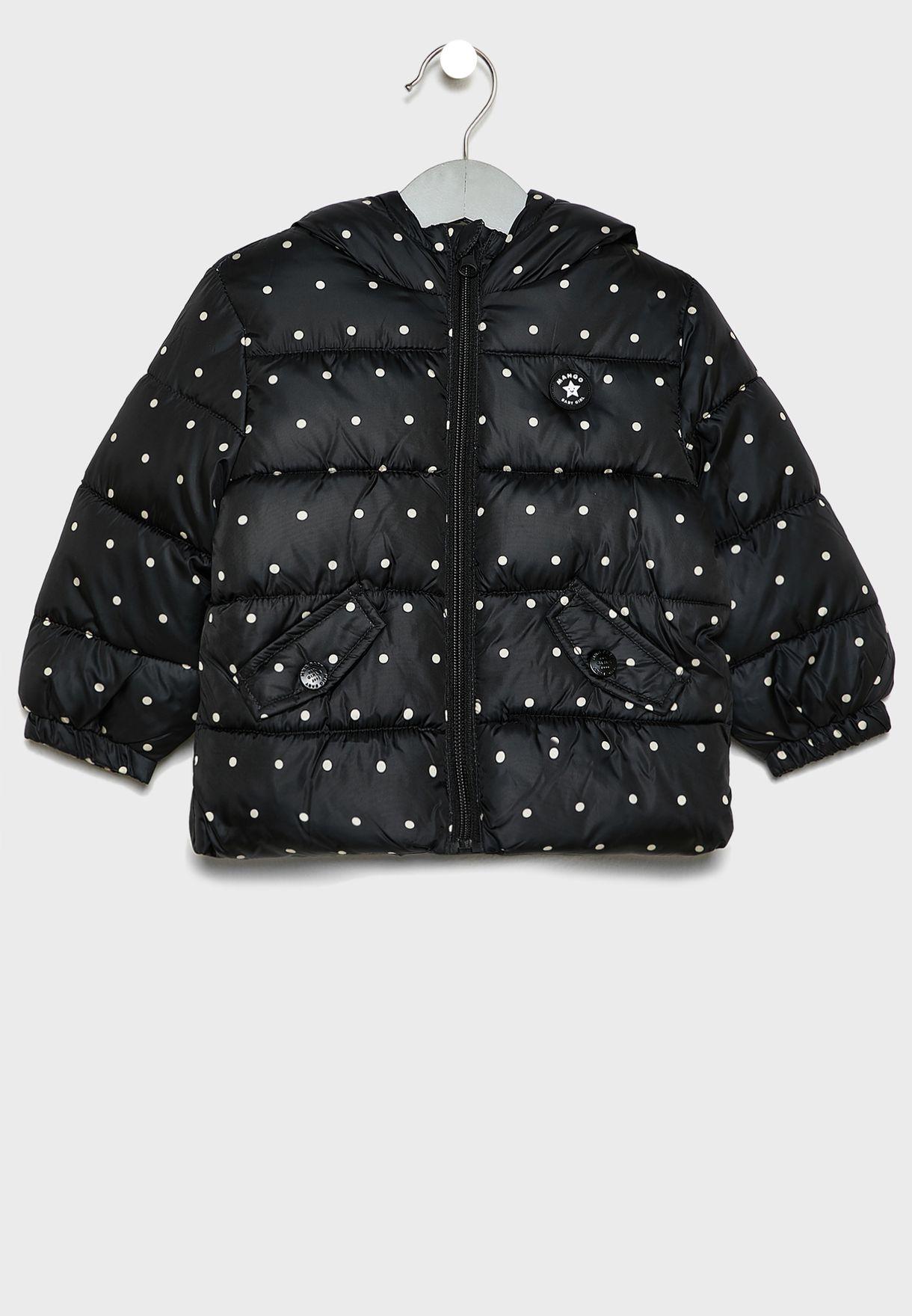 Kids Anorak Printed Jacket