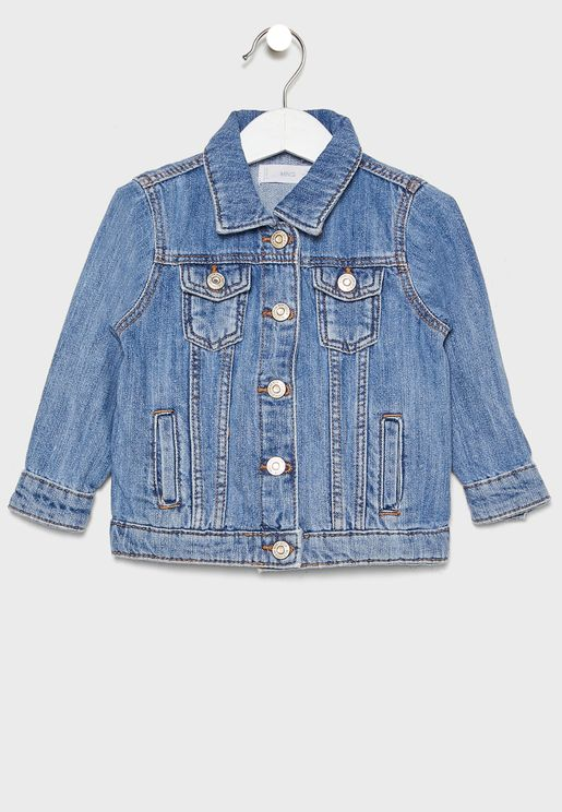 Infant  Mid Wash Denim Jacket