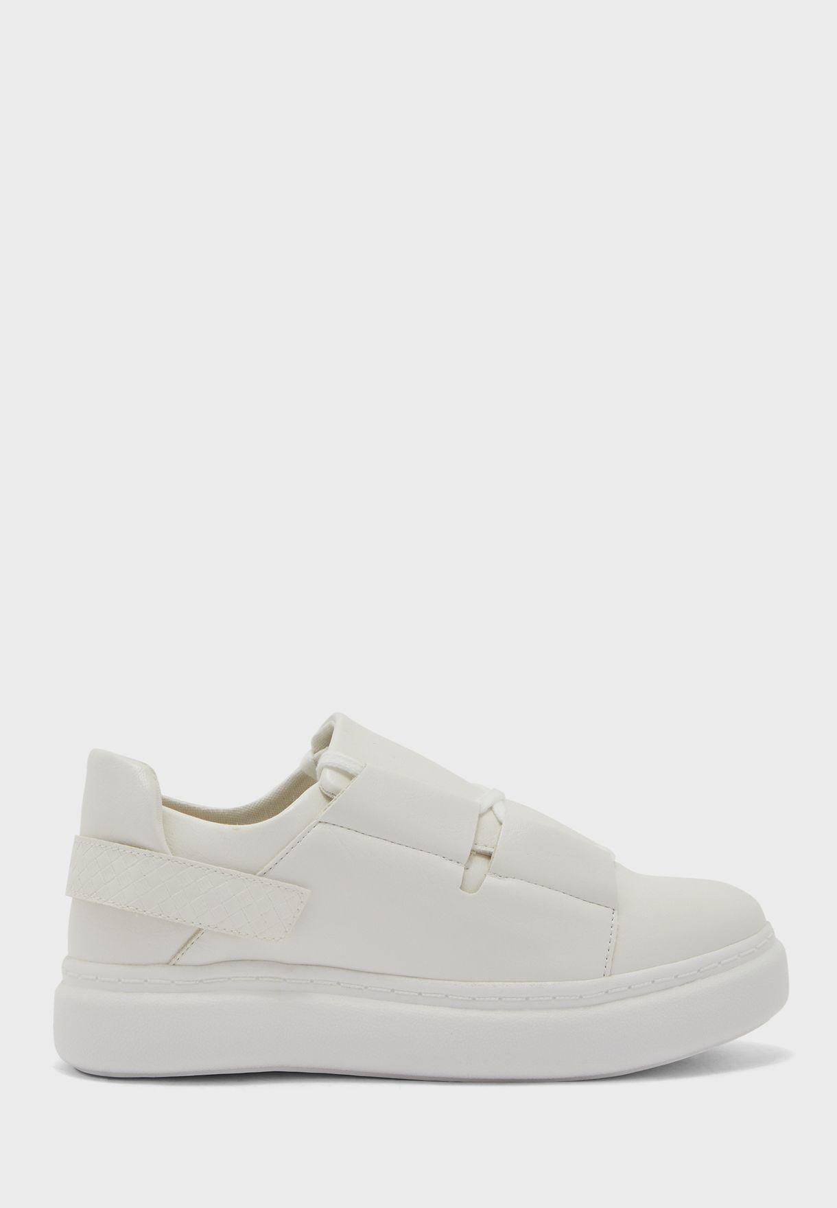 Back Strap Low Top Sneaker