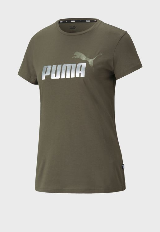 Essential Metallic Logo T-Shirt