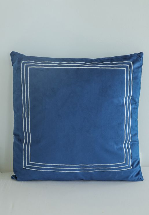 Colour Block Cushion With Insert