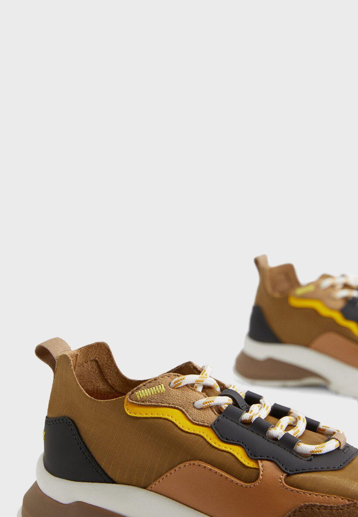Kids Color Block Sneaker
