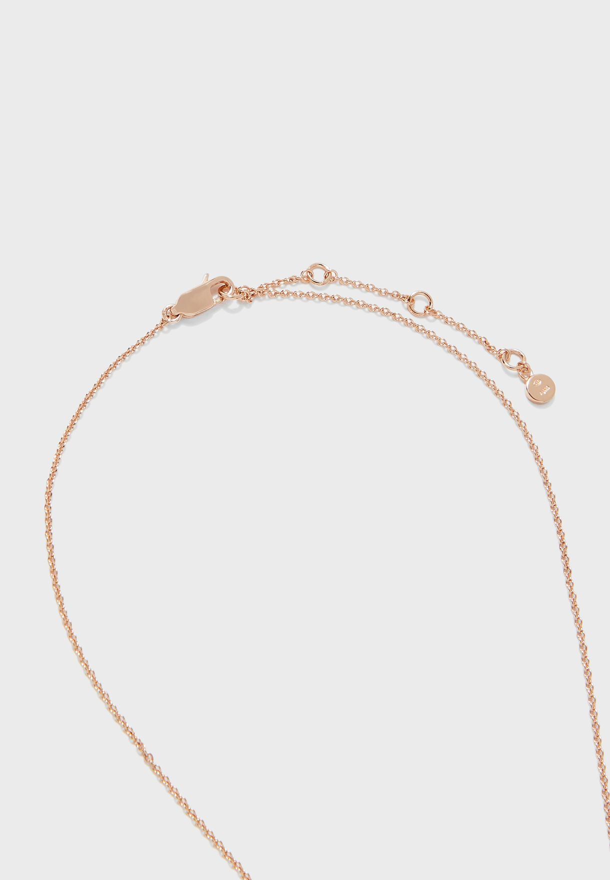 EG3416221 Sentimental Choker+Stud Earrings