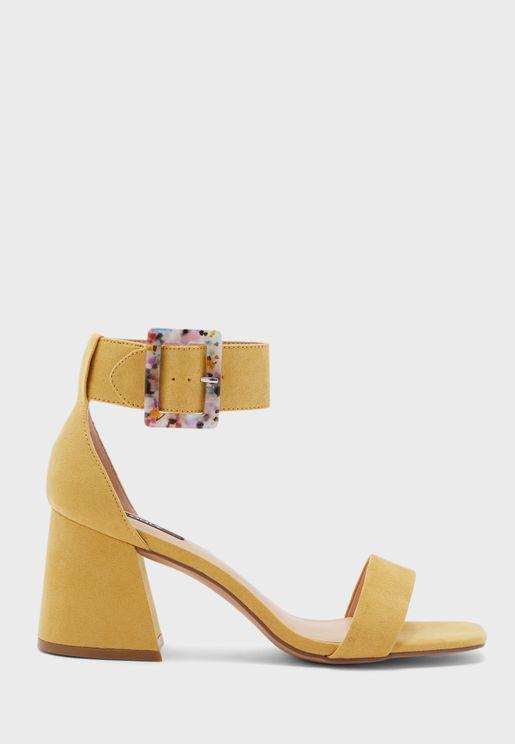 Hula-1 Ankle Strap High Heel Sandal