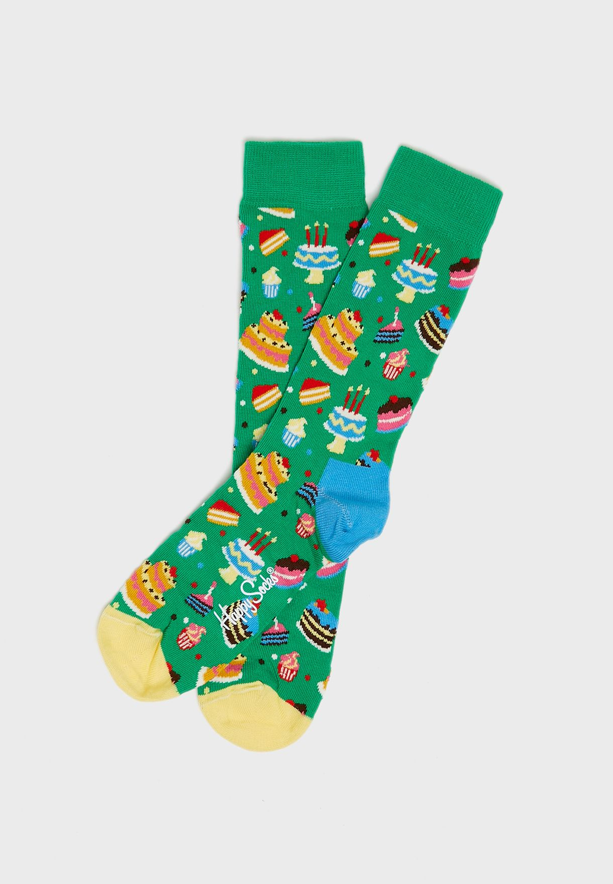 3 Pack Birthday Crew Socks