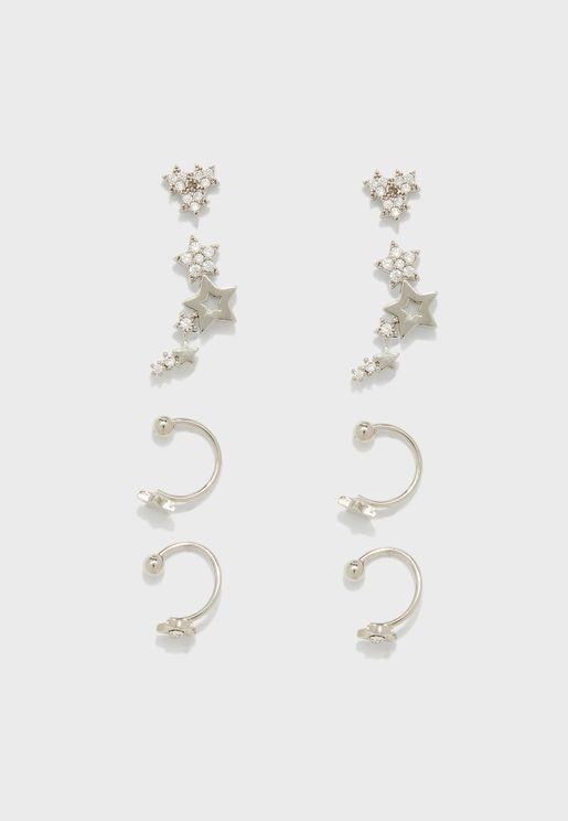 Stud Earrings Sets
