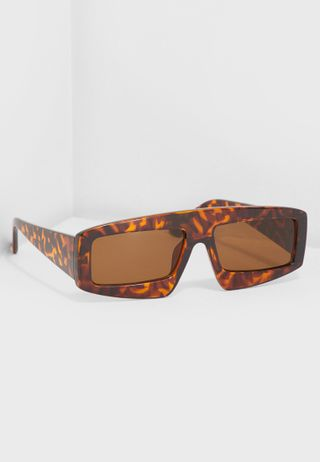 d6a08f279d Shop Mango browns Marie Wayfarers 43010692 for Women in UAE ...
