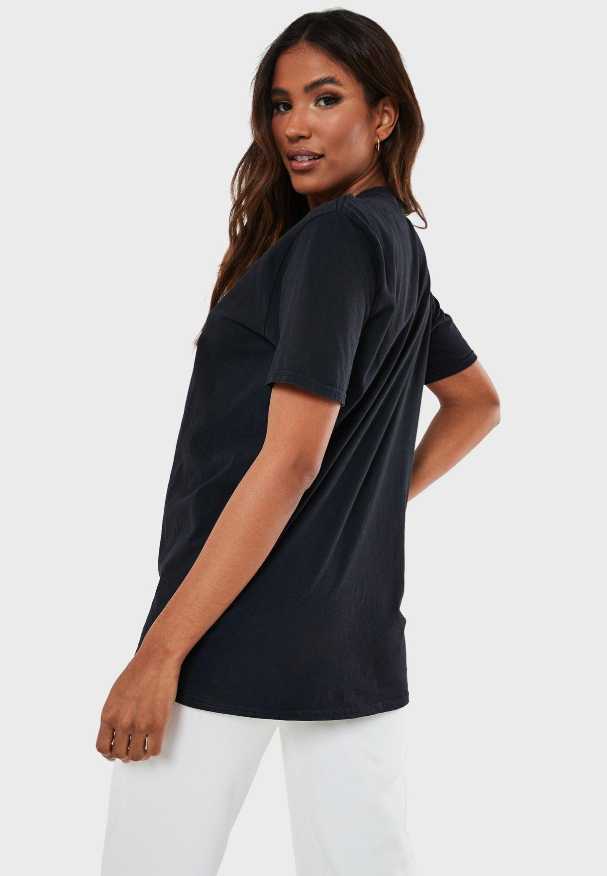 Slogan Oversized T-Shirt