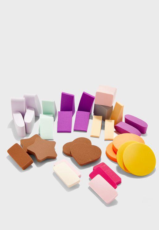 32 Pieces Assorted Blending Sponges