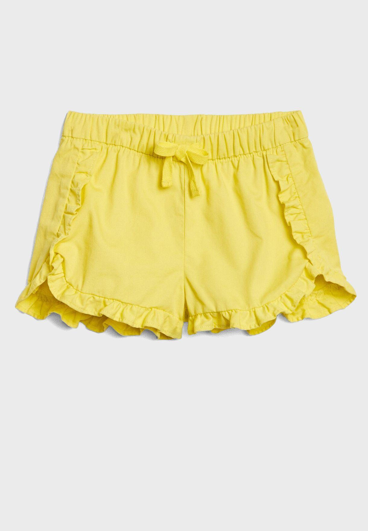 Kids Ruffle Detail Shorts