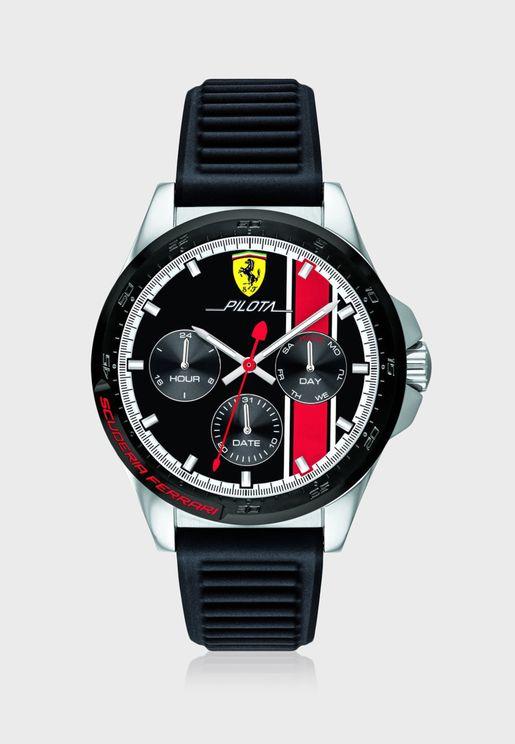 830661 Pilota Chronograph Watch